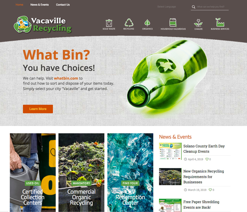 News & Events – Vacaville Recycling